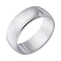 Серебряное обручальное кольцо 000121298 000121298 19 размер