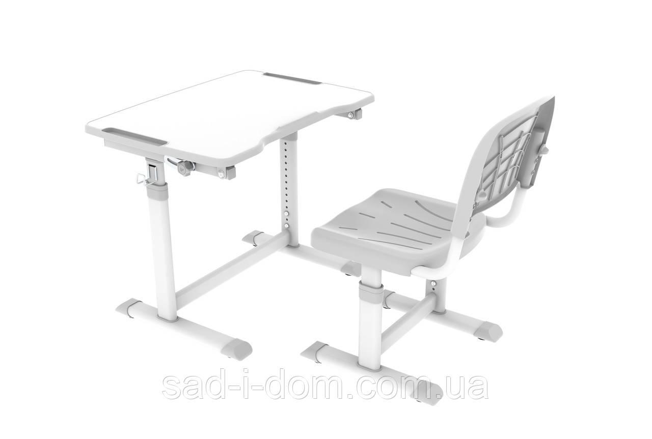 Детская парта и стул для школьника Cubby Sorpresa Grey