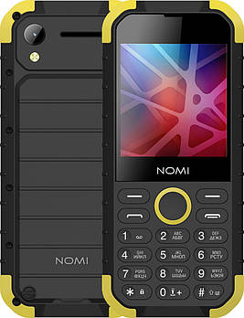 Nomi X-TREME I285 Black-Yellow Grade B1