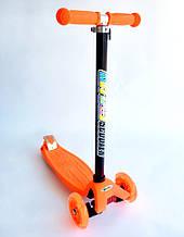 Самокат MICMAX 036 помаранчевий