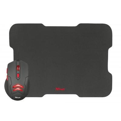 Мишка Trust Ziva Gaming mouse with Mouse pad (21963)