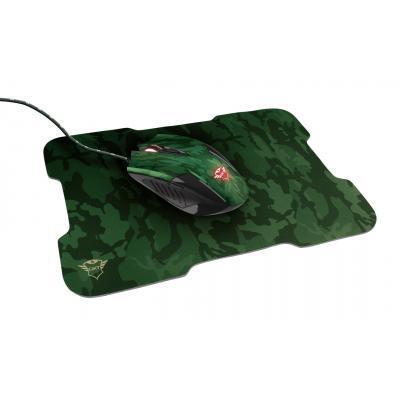Мышка Trust GXT 781 Rixa Camo Mouse & Pad USB Camouflage (23611)