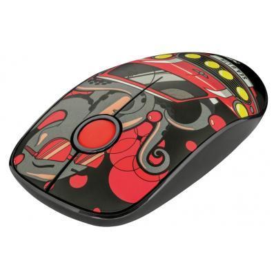 Мишка Trust Sketch Silent Click Wireless Red (23336)