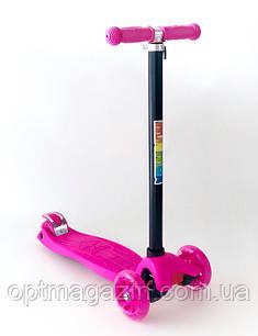 Самокат MICMAX 036 розовый, фото 2
