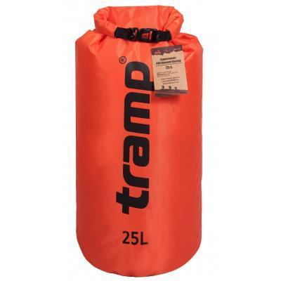 Гермомешок Tramp PVC Diamond Rip-Stop 25л оранжевый (TRA-118-orange)
