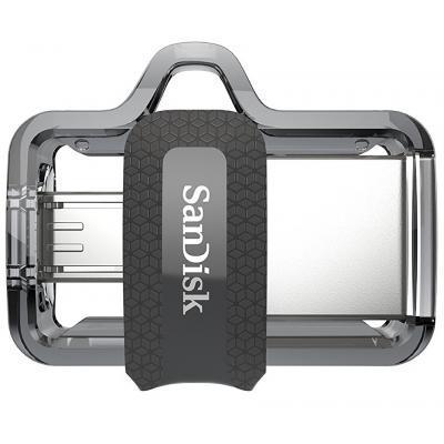 USB флеш накопичувач SANDISK 64GB Ultra Dual Black USB 3.0 OTG (SDDD3-064G-G46)