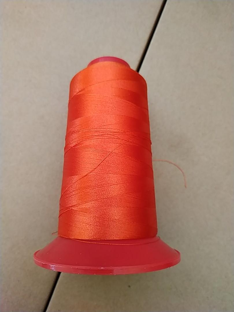 Нитки для машинной вышивки   Coats Sylko  №120 цвет B2244 ( ОРАНЖЕВЫЙ ). 3000 м
