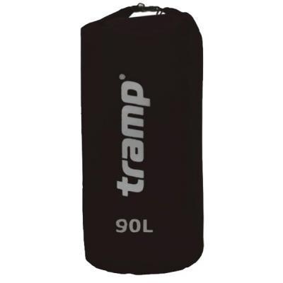 Гермомешок Tramp Nylon PVC 90 черный (TRA-105 black)