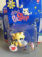 Littlest Pet Shop #896 Yellow Cat игровой набор - lps старая коллекция-2008 год