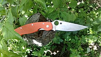 Spyderco PA60-BK оранжевый складной полуавтоматический нож (длина лезвия 99 мм), фото 1