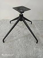 Крестовина кресла, стула высокая черная усиленная CRB-R комплект