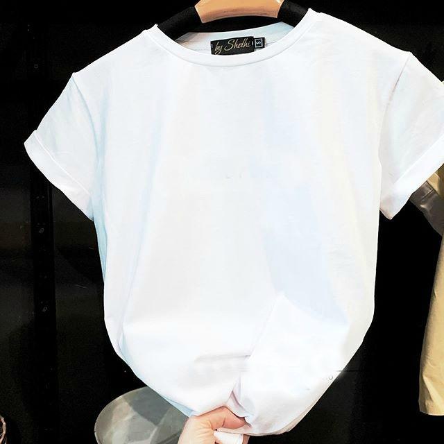 Женская футболка, коттон, р-р С; М (белый)