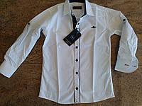 Школьная качественная рубашка на мальчика 5,6,7,8,9 лет Турция IKORAS