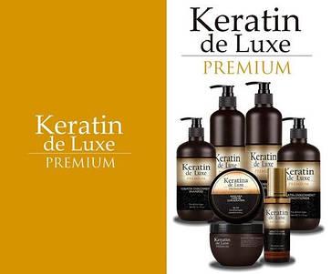 Линия с кератином для поврежденных волос Keratin De Luxe Premium