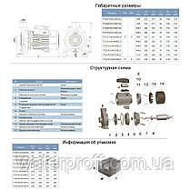 """Насос центробежный 380В 5.5кВт Hmax 46,5м Qmax 900л/мин 2"""" LEO 3.0 (7752733), фото 2"""