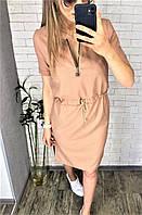 Платье женское норма БЕЖ447, фото 1