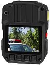 Відеореєстратор нагрудний поліцейський Патруль Х - 02 (Protect R-02A) 64Gb+GPS, Онлайн Wi-Fi (STA,AP), 2021, фото 2
