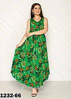 Модные летние платья женские размеры 54-58