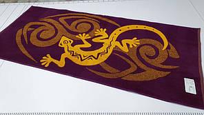 Полотенце махровое 67*150 Ящерица , Речица.