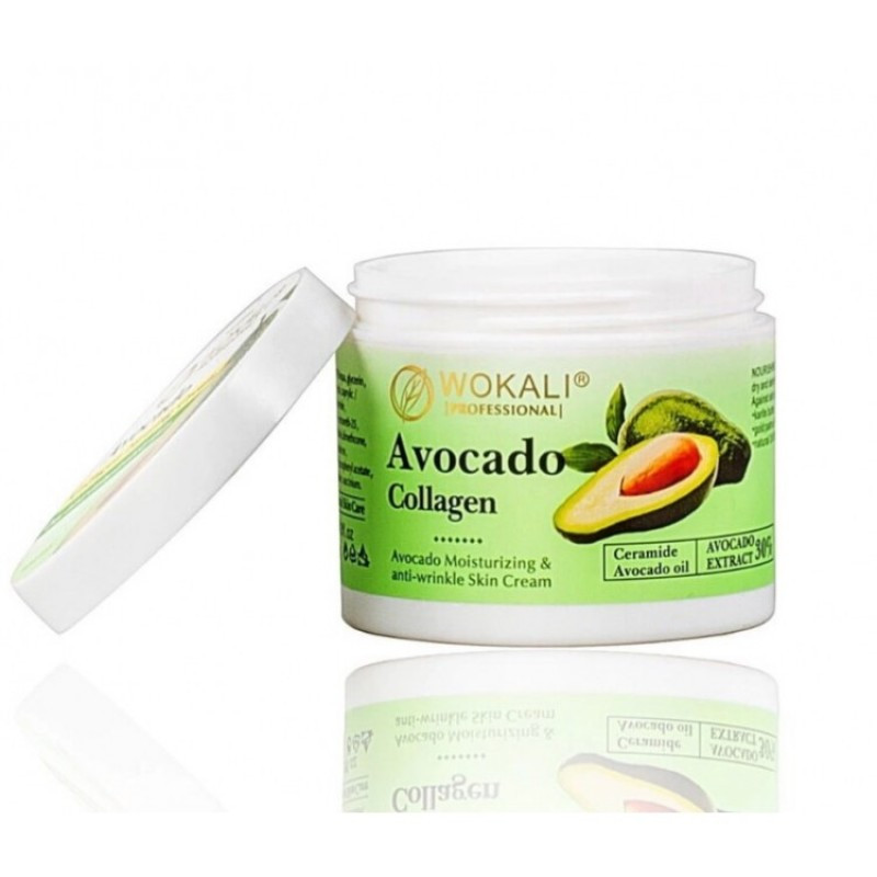 Крем для лица WOKALI Avocado Collagen Firming Cream 115 г