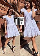 Лёгкое, нежное, воздушное платье из прошвы