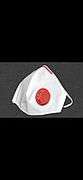 """Респиратор FFP3 СЛАВИЯ, с красным клапаном и носовым зажимом. """"ФФП3"""" от производителя без посредников"""