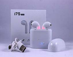 Наушники беспроводные Bluetooth airpodS Apple для Телефона i7S айфон 7 8 9