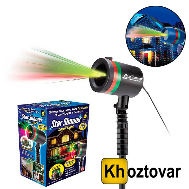 Лазерний зоряний проектор Star Shower Laser Light