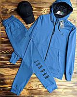Летний спортивный костюм Jordan, двухнить (Реплика)