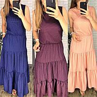 Платье женское норма БЕЖ445, фото 1
