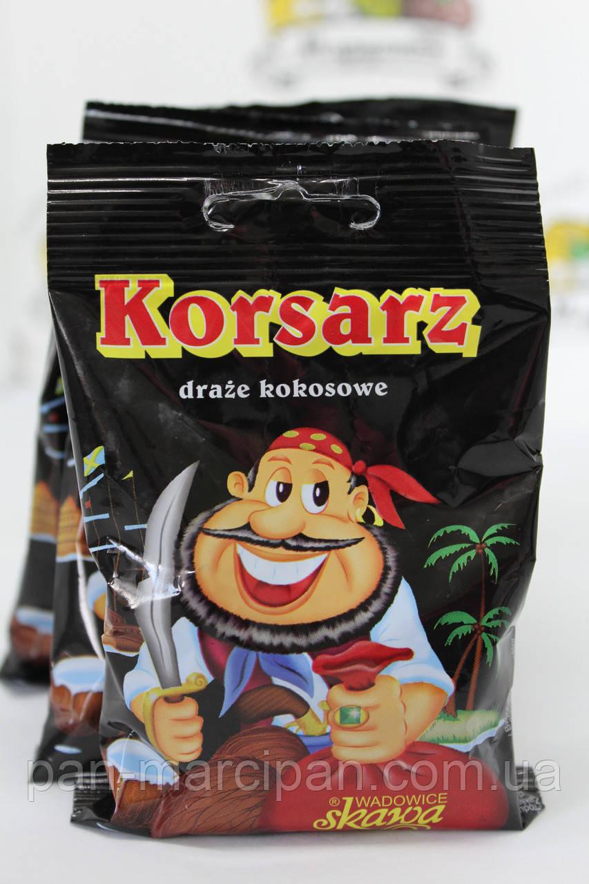Драже кокосове Korsarz Корсар 70 г
