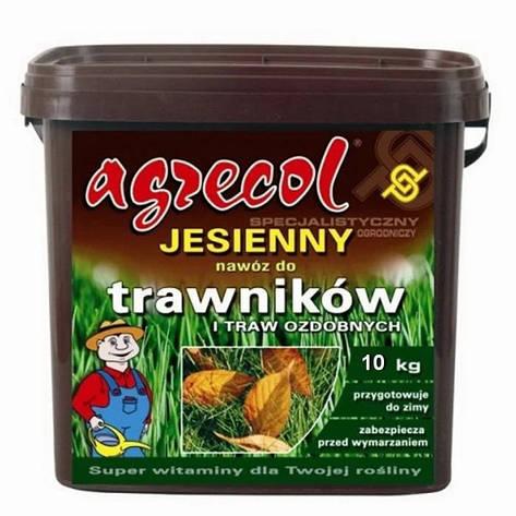 Удобрение для газонов осеннее Agrecol 10 кг, фото 2