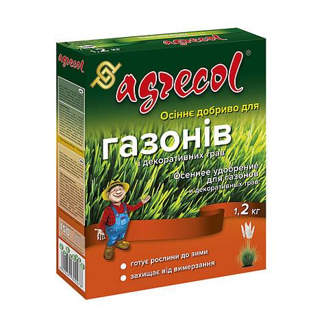 Удобрение для газонов осеннее Agrecol 1,2 кг, фото 2