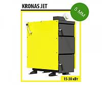 Котел KRONAS Jet шахтного типа 15 кВт (5 мм)