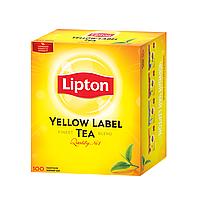 Чай Lipton Yellow Label Tea черный байховый 100*2г/уп