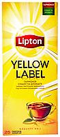 Чай Lipton Yellow Label черный байховый 25*2г/уп