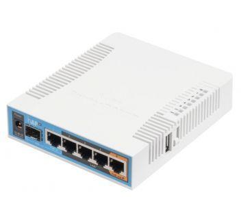 HAP ac (RB962UiGS-5HacT2HnT) Двухдиапазонная Wi-Fi точка доступа с 5-портами Ethernet  для домашнего использования