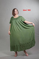 Длинные летние платья женские размеры 54-66