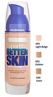 Тональное средство Maybelline Super Stay Better Skin (3 тона) 30ml № 005, 32, 40 - NEW16Р800, фото 1