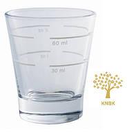Мерный стакан для приготовление кофе (эспрессо шот). 30мл/60мл.