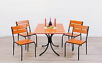 Металлический садовый комплект мебели Rio+, комплект мебели из металла, металлический комплект мебели