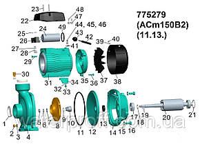 """Насос відцентровий 1.5 кВт Hmax 22м Qmax 500л/хв 2"""" LEO 3.0 (775279), фото 2"""