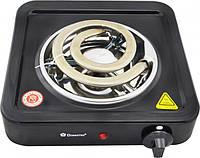 Электроплита Domotec MS-5531 плита электрическая настольная Домотек с широкой спиралью 1000 Вт