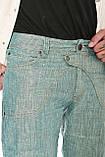 Джинсы мужские Franco Benussi 1210 лен зеленые, фото 9