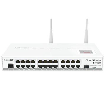 CRS125-24G-1S-2HnD-IN 24-портовый управляемый Cloud коммутатор с Wi-Fi