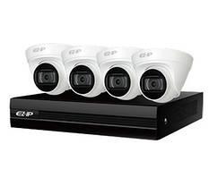 EZIP-KIT/NVR1B04HC-4P/E/4-T1B20 Комплект видеонаблюдения Dahua