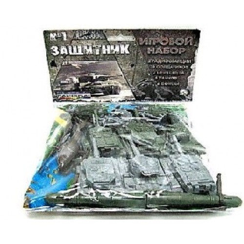 Армия Солдатики Защитник №1 COLOR plast