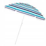 Пляжный зонт с регулируемой высотой Springos 160 см BU0006, фото 5