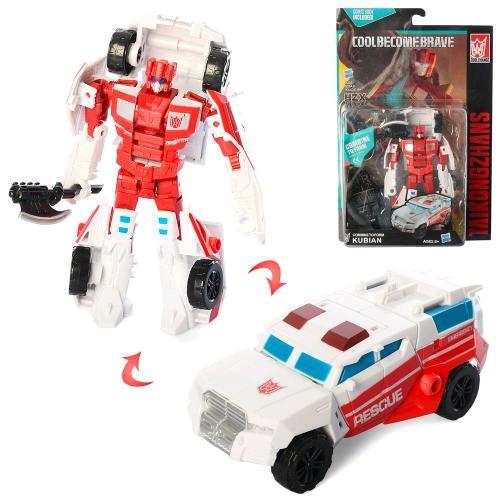 Трансформер A104 робот + машина письмо 19-28 5-6 см.
