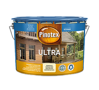 Pinotex Ultra Lasur 10л Пинотекс Ультра Лазурь (тик, калужница, орегон, орех, красное дерево, палисандр). +Р